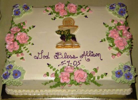 First Holy Communion Cakes Archives The Bake Shop