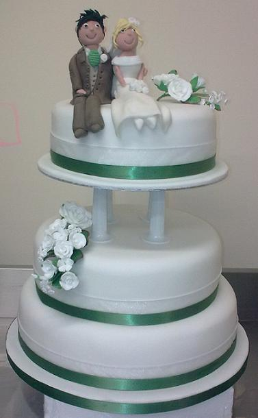 Wedding Cake With Step And Tier