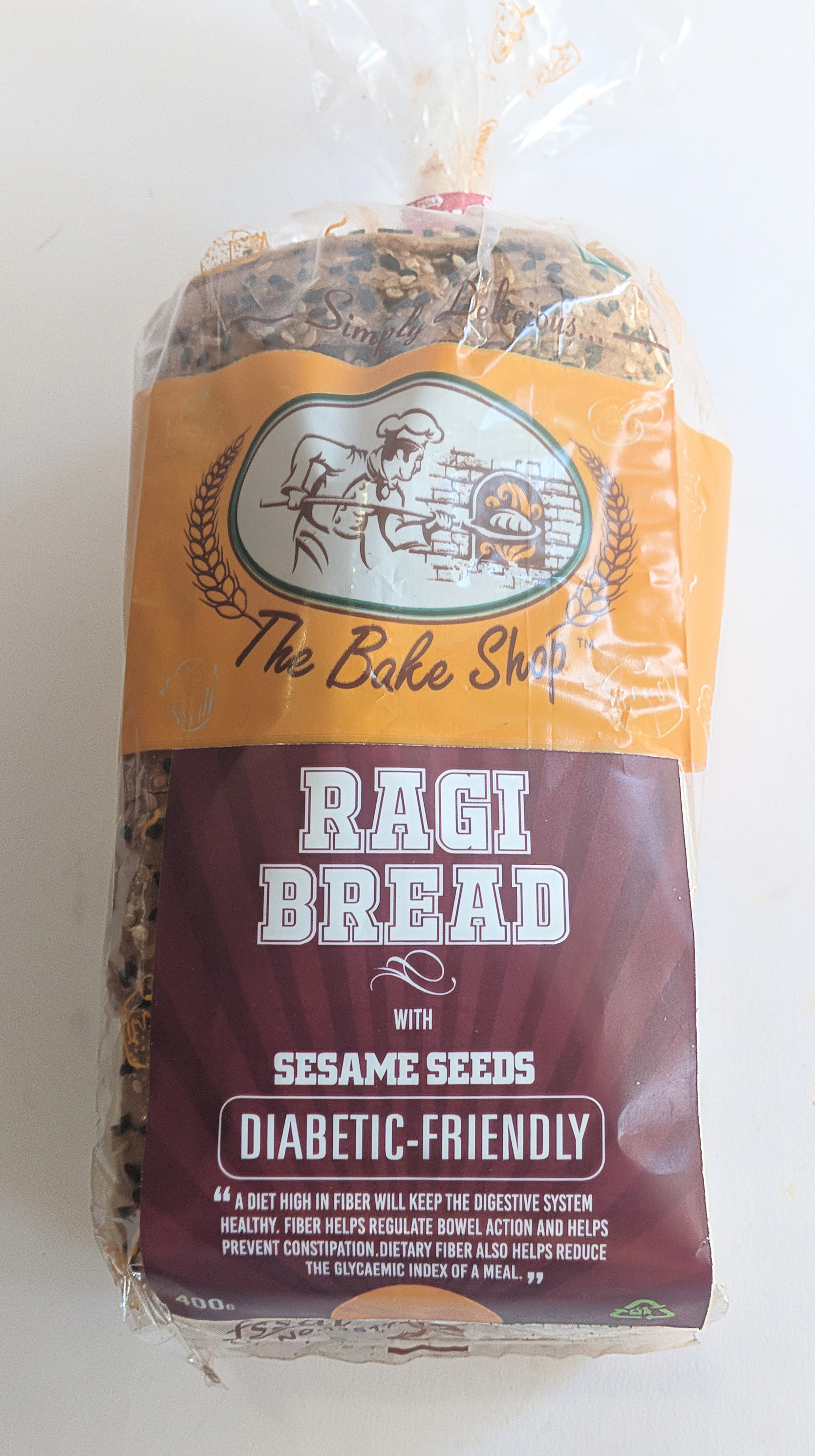 Ragi Bread with Sesame seeds