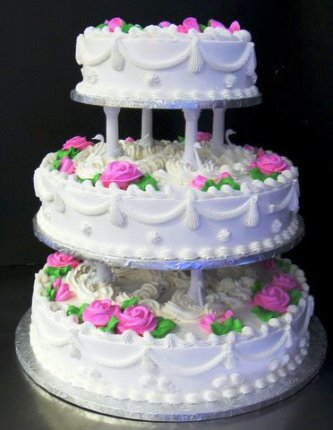 cost of 3 tier wedding cake tier cakes archives the bake shop 12963